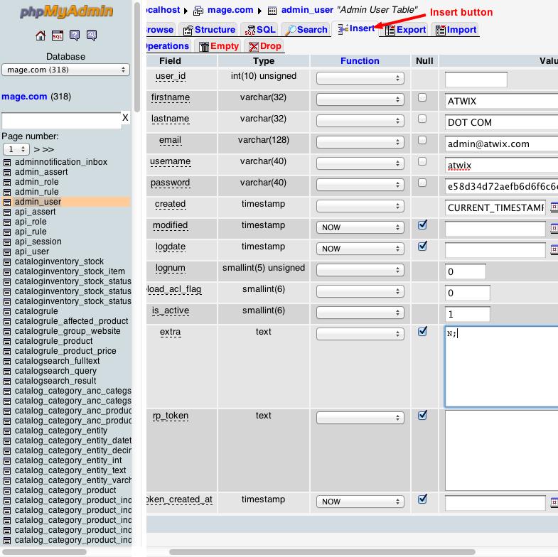 edit field mysql database php scripts
