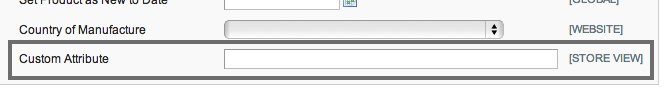 Magento Admin Product Edit