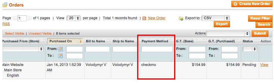 Orders_Sales_Magento_Admin