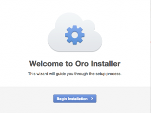 Oro Application installation 1