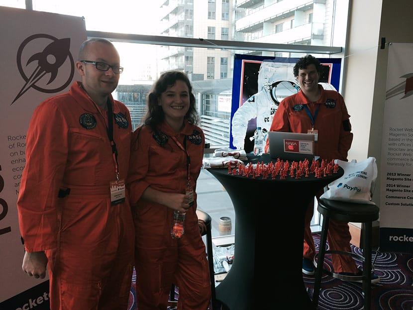Rocket Web at Meet Magento Poland 2014