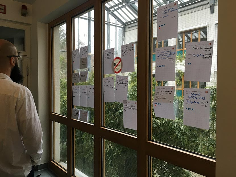 Topic selection at Magento Unconference 2016