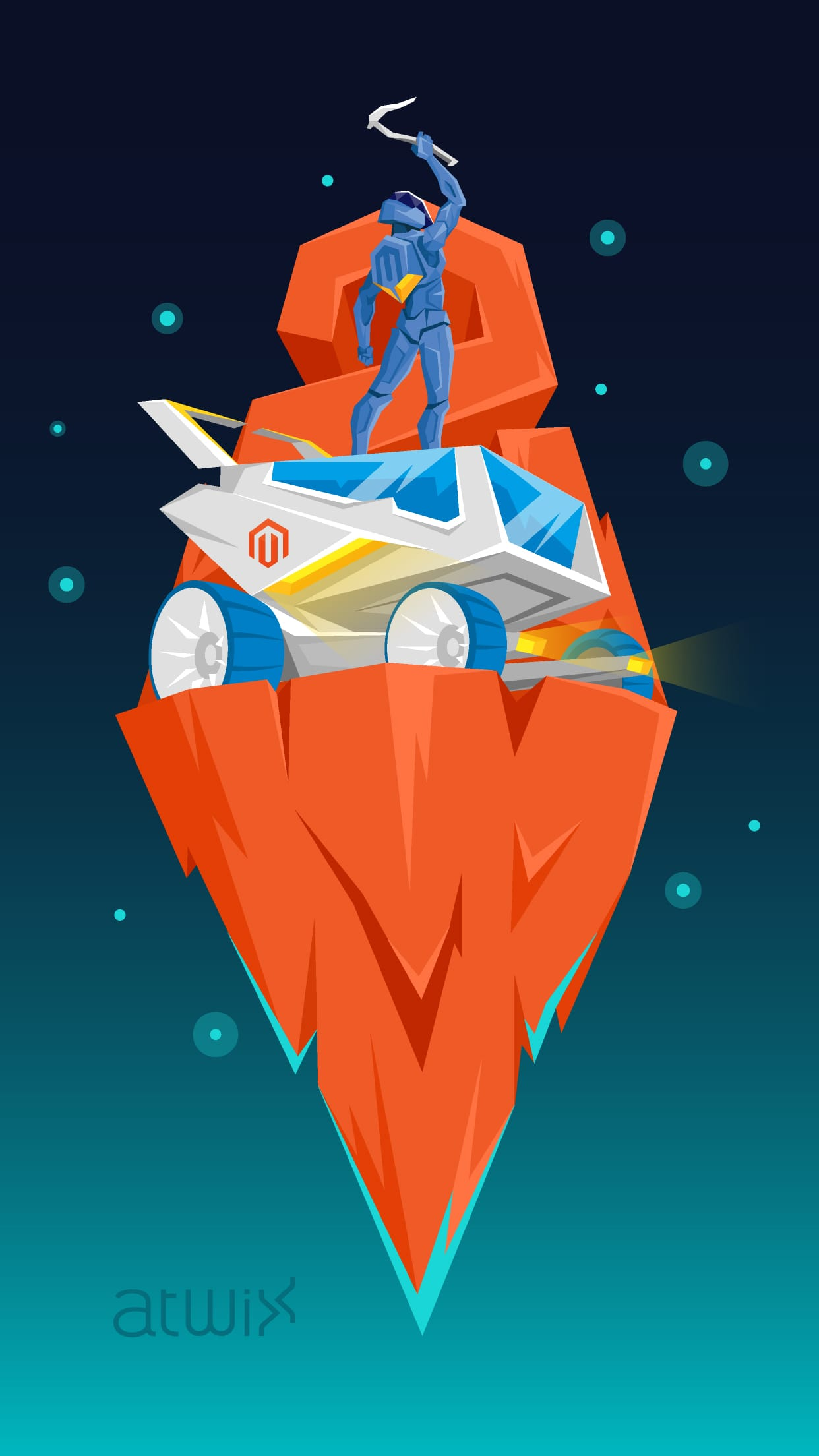 5s poster design - Magento 2 Trailblazer Magento_2_trailblazer_preview