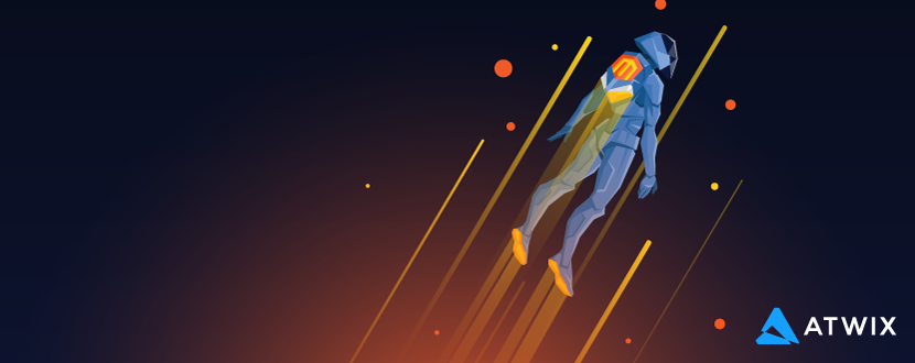 Magento Outer Space Flight Wallpaper Preview
