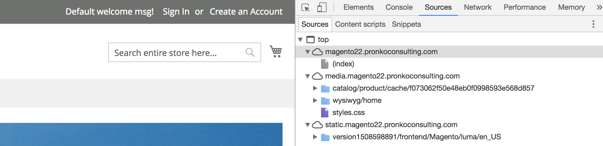 Applied changed on Magento 2 frontend