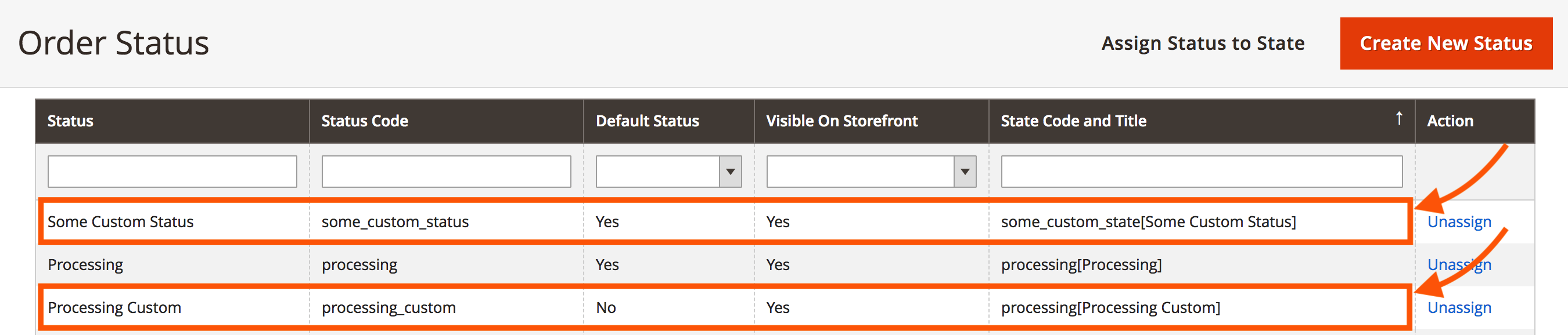 Create order state and status programmatically in Magento 2