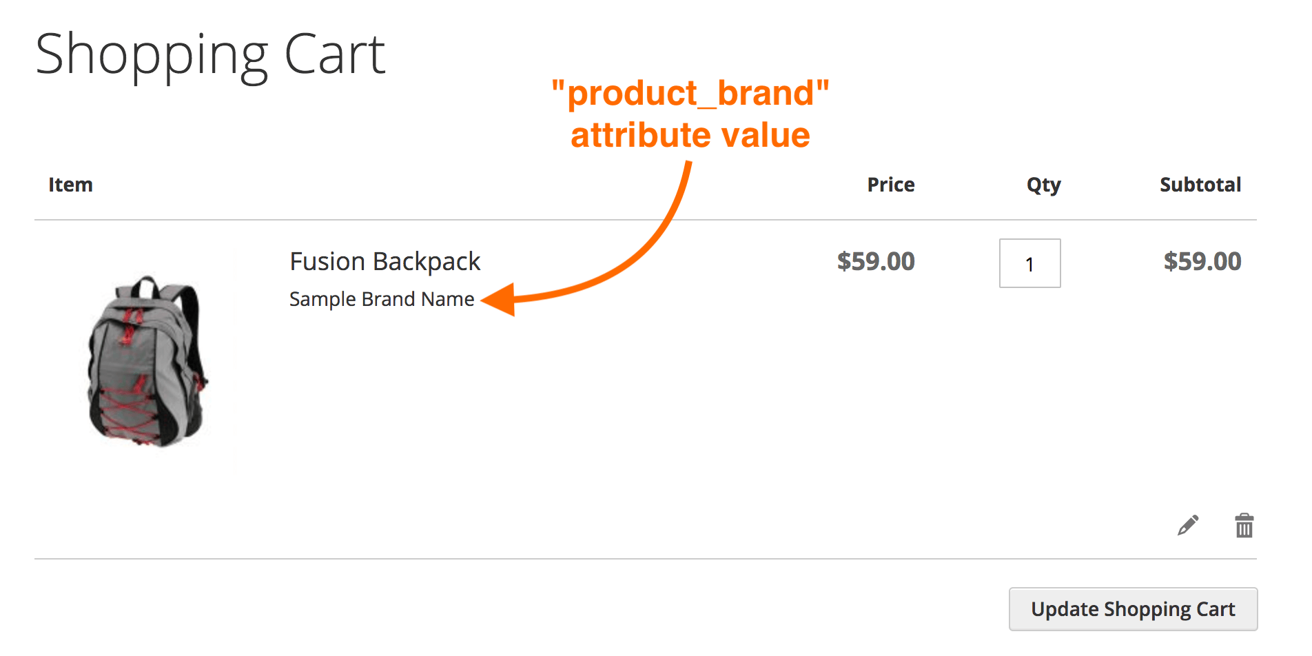 Display additional product details for cart item in Magento 2