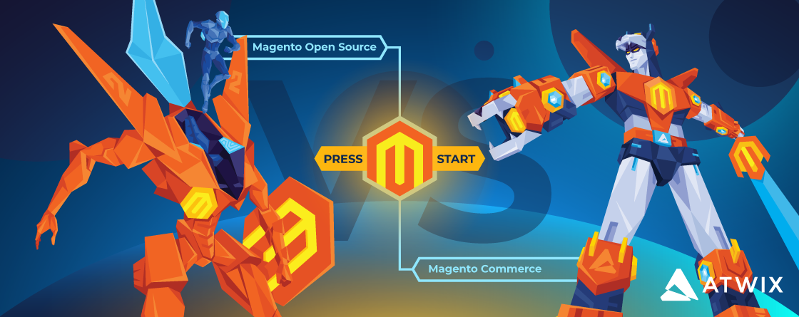 Magento Open Source vs Magento Commerce features comparison